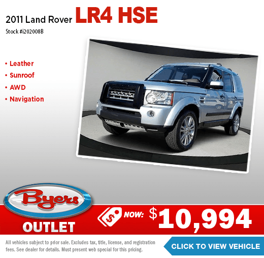 2011 Land Rover LR4 HSE Pre-Owned Special in Columbus, OH