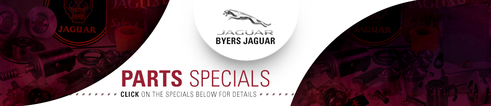 Save On Genuine Jaguar Parts & Accessories Specials serving Columbus, OH