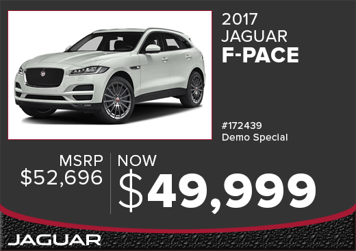2017 Jaguar F-Pace Demo Sales Special in Columbus, OH