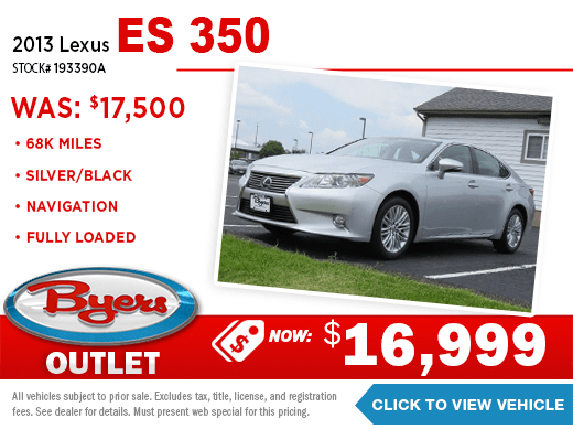 2013 Lexus ES 350 Pre-Owned Special at Byers Imports in Columbus, OH