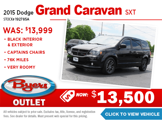 2015 Dodge Grand Caravan SXT Pre-Owned Special at Byers Imports in Columbus, OH