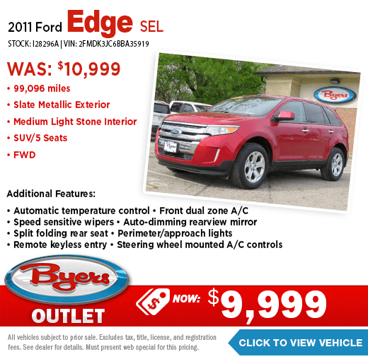 2011 Ford Edge SEL Pre-Owned Special at Byers Outlet in Columbus, OH