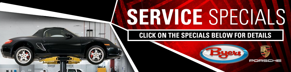 Porsche Service Specials & Coupons available in Columbus, OH