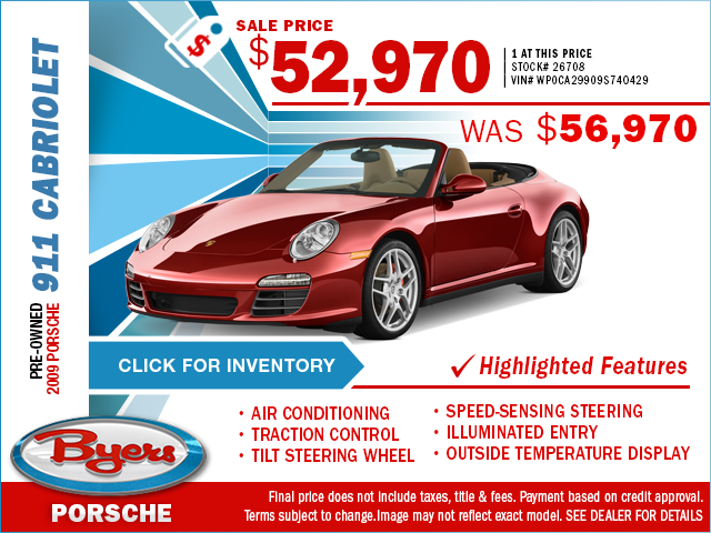 2009 Porsche 911 Pre-Owned Special in Columbus, OH