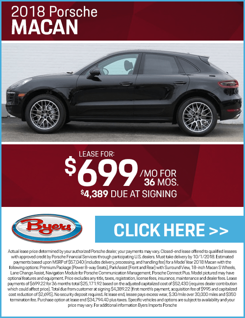 2018 Porsche Macan Lease Special in Columbus, OH