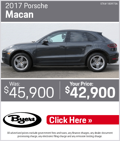 2017 Porsche Macan Pre-Owned Special in Columbus, OH