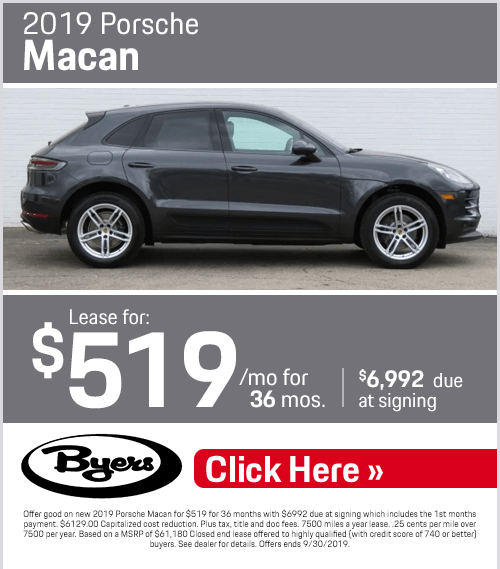 2019 Porsche Macan Lease Special in Columbus, OH