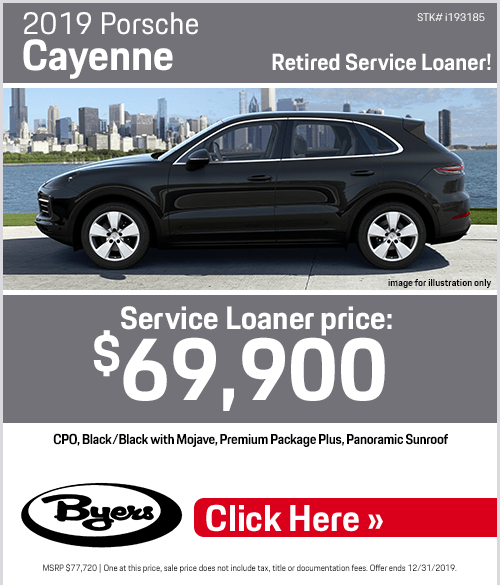 2020 Porsche Macan Lease Special at Byers Porsche in Columbus, OH