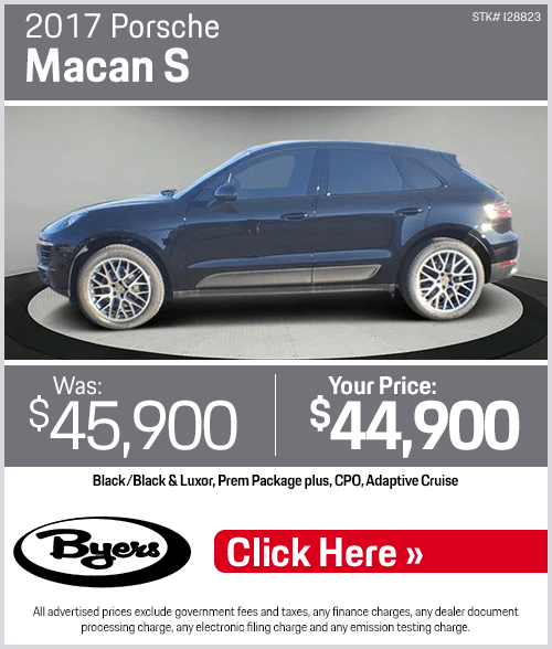 2017 Porsche Macan S Pre-Owned Special in Columbus, OH