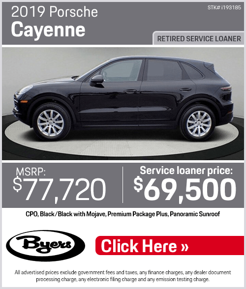 2019 Porsche Cayenne Pre-Owned Special in Columbus, OH
