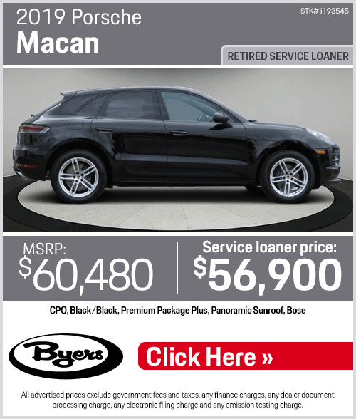 2019 Porsche Macan Pre-Owned Special in Columbus, OH