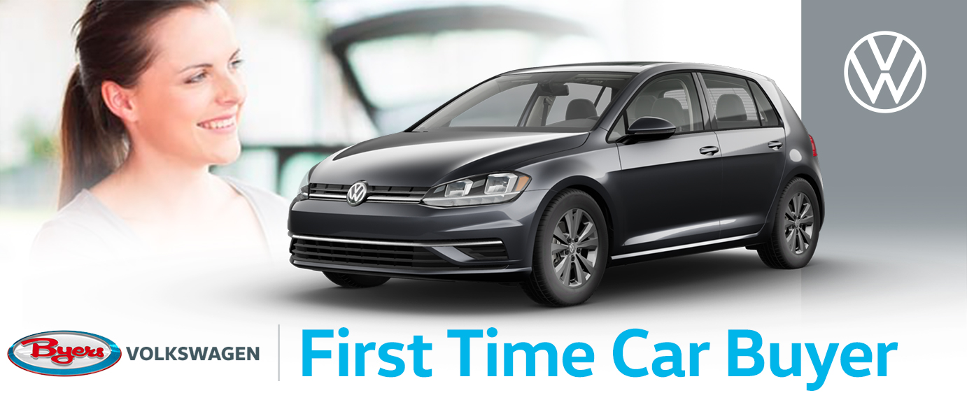 Byers Volkswagen First Time Car Buyer