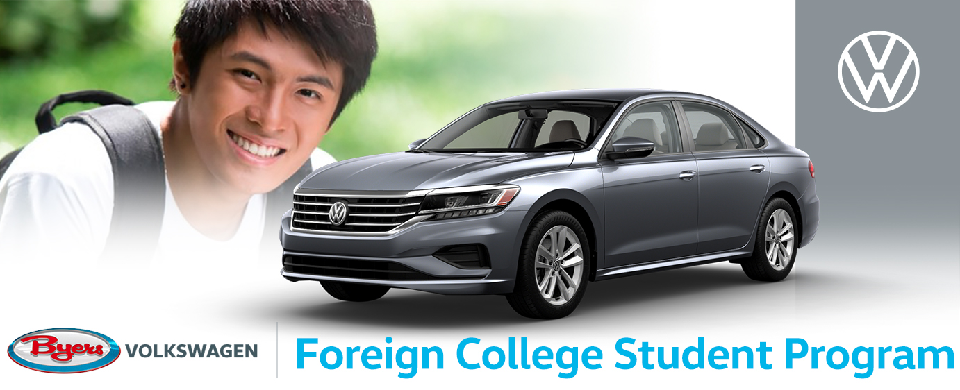 Byers Volkswagen Foreign College Student Program