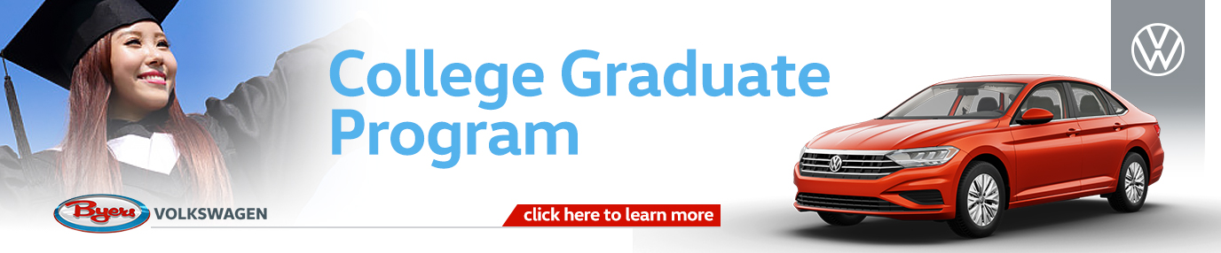 Click to Learn More About Our College Graduate Program at Byers Volkswagen in Columbus, OH