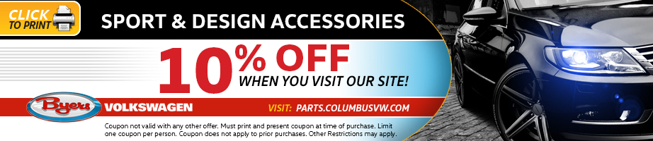 Click to print this Volkswagen sport design accessories parts special serving Pickerington, OH
