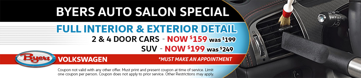 Volkswagen Interior & Exterior Detail Parts Special in Columbus, OH