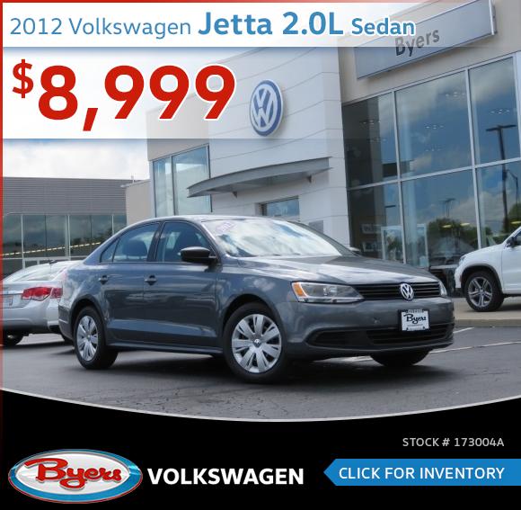 2012 Volkswagen Jetta 2.0L Sedan Pre-Owned Special in Columbus, OH