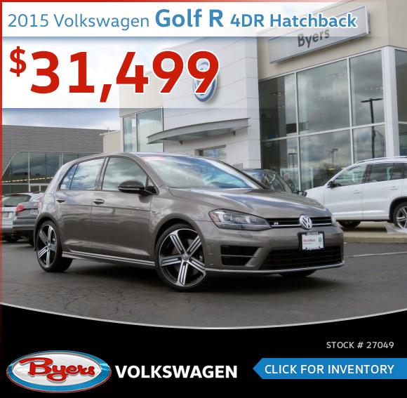 2015 Volkswagen Golf R 4-Door Hatchback Pre-Owned Special in Columbus, OH