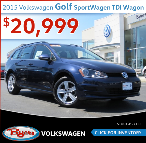 2015 Volkswagen Golf SportWagen TDI Wagon Pre-Owned Special in Columbus, OH