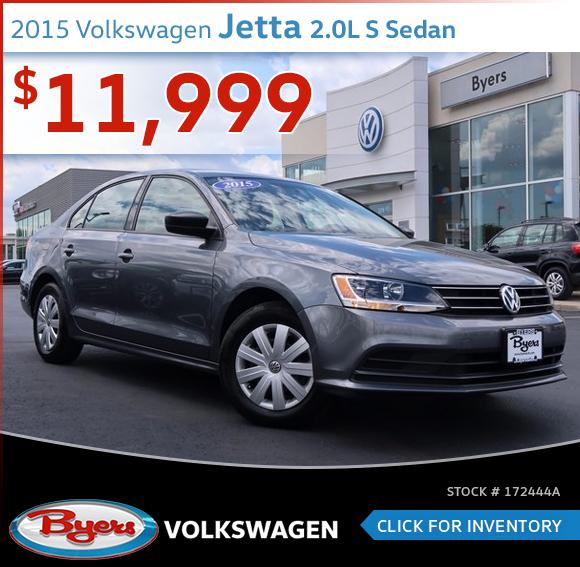 2015 Volkswagen Jetta 2.0L S Sedan Pre-Owned Special in Columbus, OH