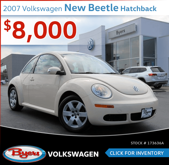 2007 Volkswagen New Beetle Hatchback Pre-Owned Special in Columbus, OH