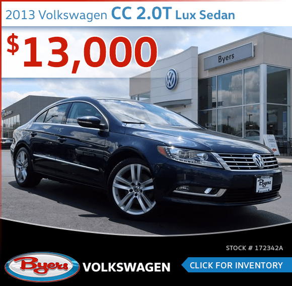 2013 Volkswagen CC 2.0T Lux Sedan Pre-Owned Special in Columbus, OH
