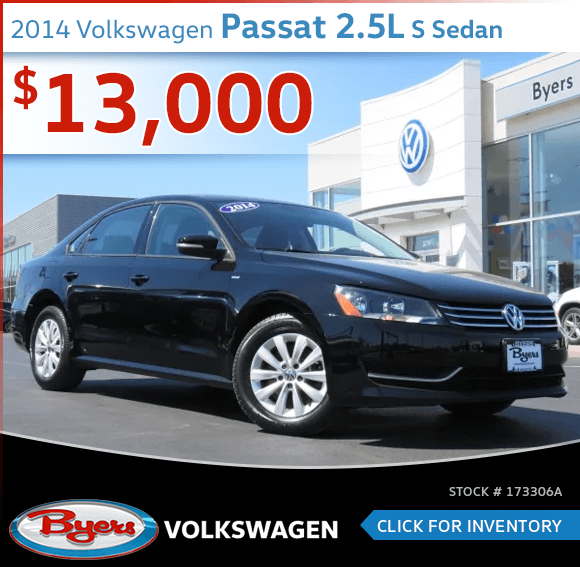 2014 Volkswagen Passat 2.5L S Sedan Pre-Owned Special in Columbus, OH