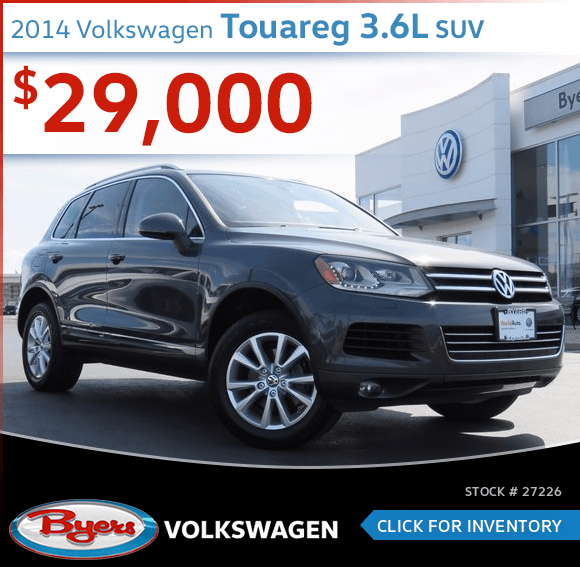 2014 Volkswagen Touareg 3.6L SUV Pre-Owned Special in Columbus, OH