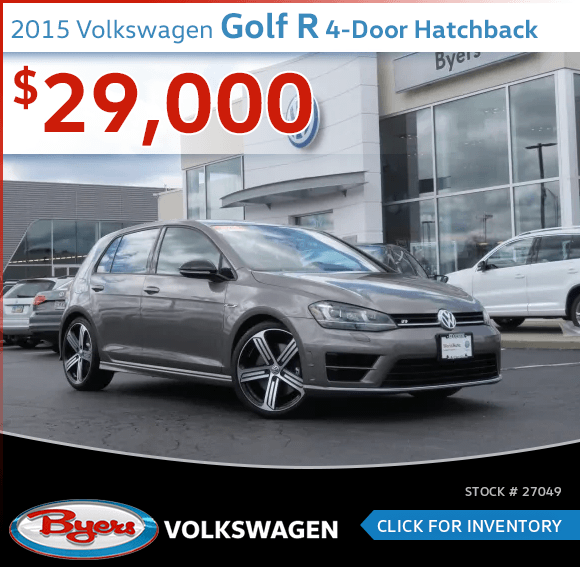 2015 Volkswagen Golf R 4-Door Hatchback Pre-Owned Special in Columbus, OH