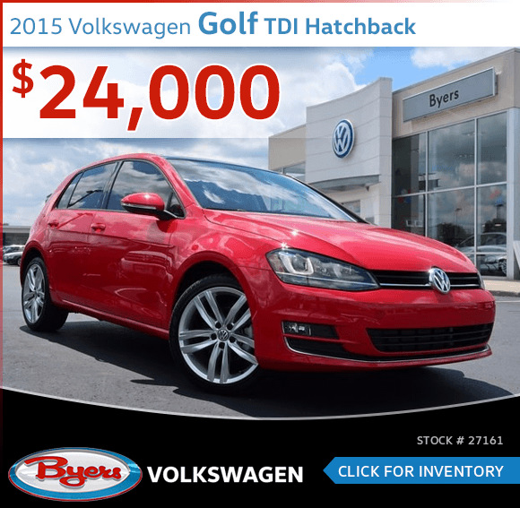 2015 Volkswagen Golf TDI Hatchback Pre-Owned Special in Columbus, OH