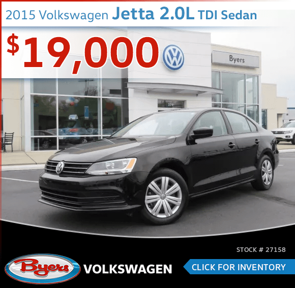 2015 Volkswagen Jetta 2.0L TDI Sedan Pre-Owned Special in Columbus, OH