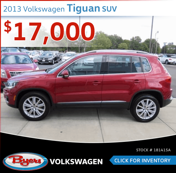 2013 Volkswagen Tiguan SUV Pre-Owned Special in Columbus, OH