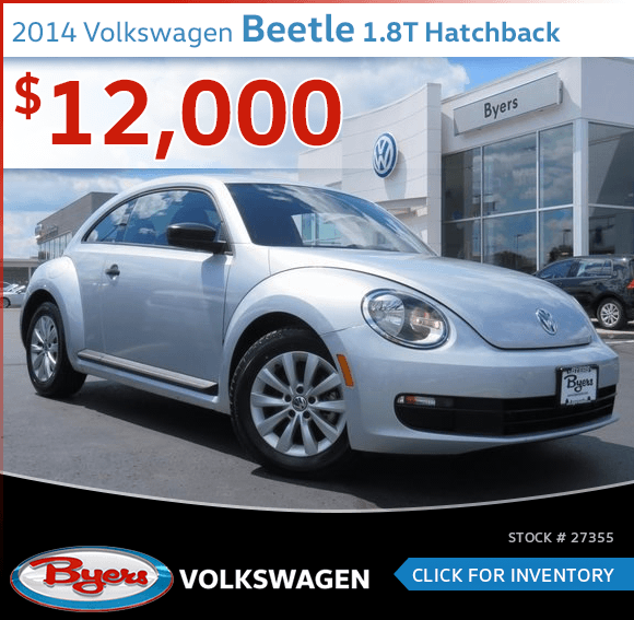 2014 Volkswagen Beetle 1.8T Hatchback Pre-Owned Special in Columbus, OH