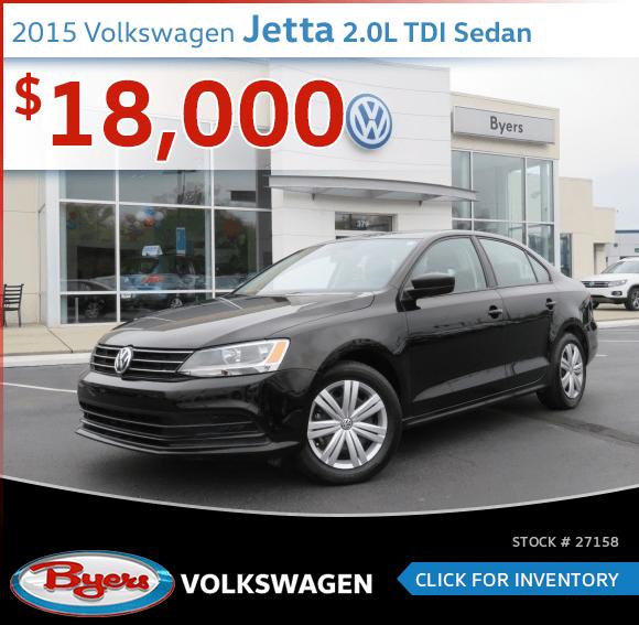 2015 Volkswagen Jetta 2.0L TDI Sedan Pre-Owned Special in Columbus, OH