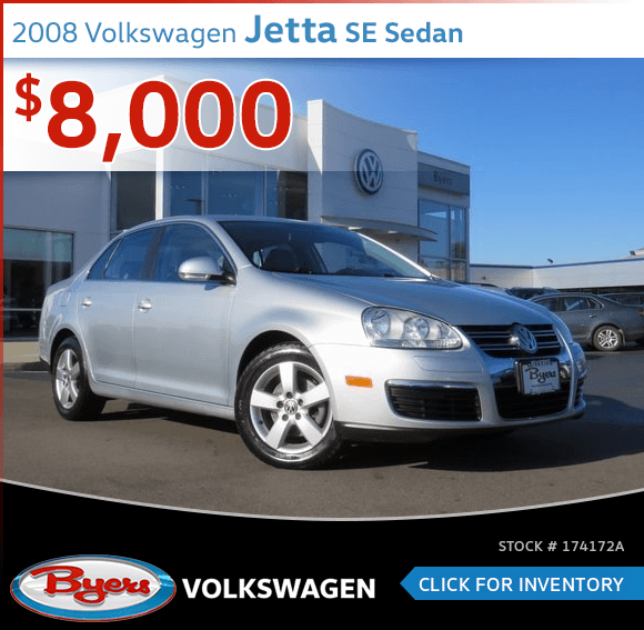 2008 Volkswagen Jetta SE Sedan Pre-Owned Sales Special in Columbus, OH