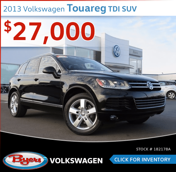 2013 Volkswagen Touareg TDI SUV Pre-Owned Sales Special in Columbus, OH