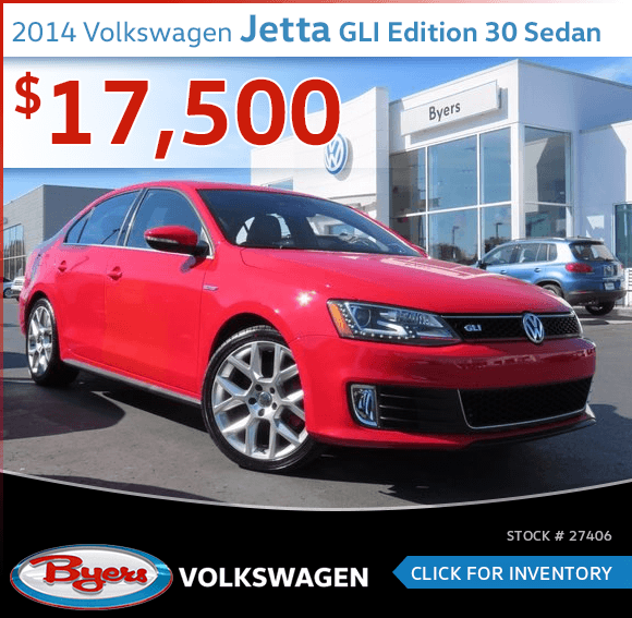 2014 Volkswagen Jetta GLI Edition 30 Sedan Pre-Owned Sales Special in Columbus, OH