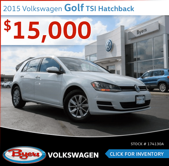 2015 Volkswagen Golf TSI Hatchback Pre-Owned Sales Special in Columbus, OH