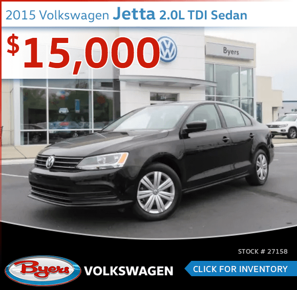 2015 Volkswagen Jetta 2.0L TDI Sedan Pre-Owned Sales Special in Columbus, OH