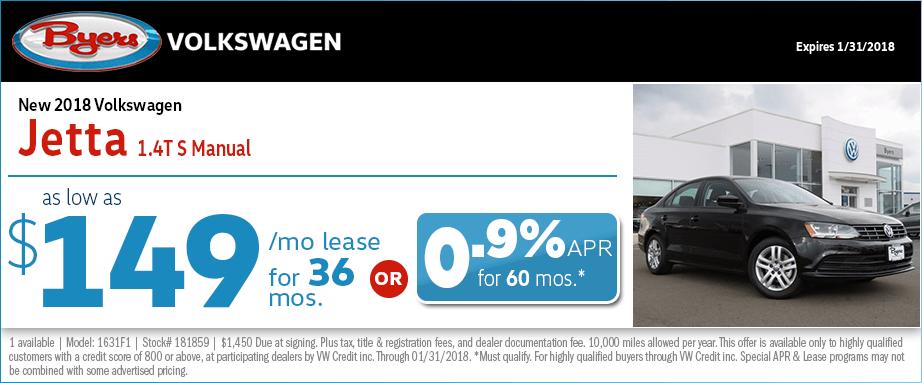 2018 Volkswagen Jetta S Manual