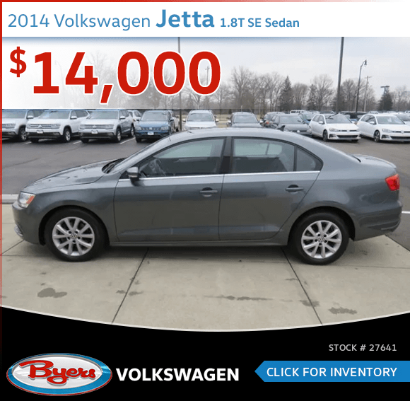 2014 Volkswagen Jetta 1.8T SE Sedan pre-owned discount in Columbus, OH