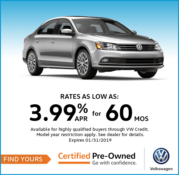 Special Finance Rates For Up To 60 months at Byers Volkswagen in Columbus, OH