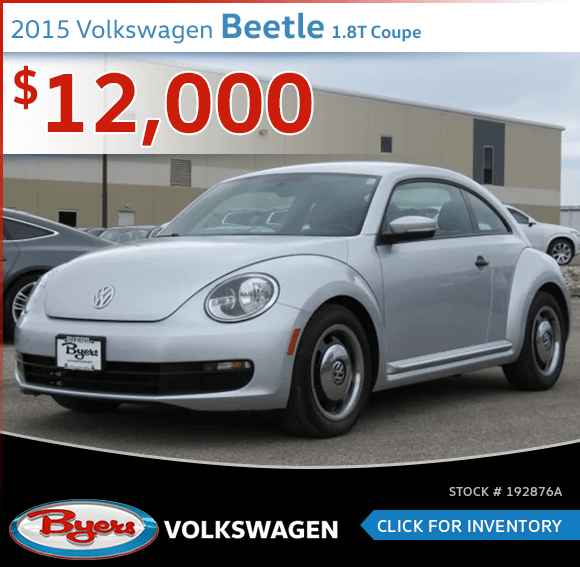 Pre-Owned 2015 Volkswagen Beetle 1.8T Coupe special in Columbus, OH