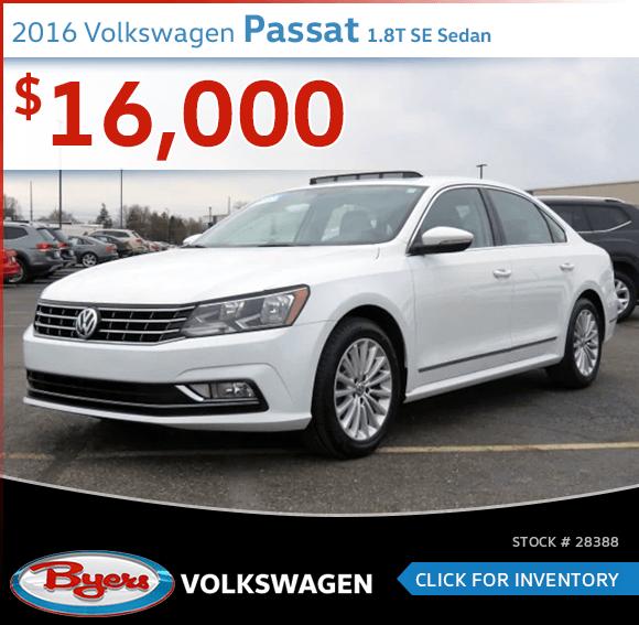 Pre-Owned 2016 Volkswagen Passat 1.8T SE Sedan special in Columbus, OH