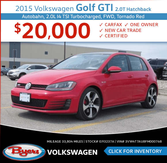 2015 Volkswagen Golf GTI 2.0T Hatchback Pre-Owned Special in Columbus, OH