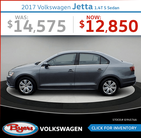 Save on this Pre-Owned 2017 Volkswagen Jetta 1.4T S Sedan special in Columbus, OH