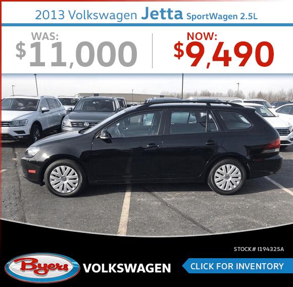 2013 VW Jetta SportWagen 2.5L Pre-Owned Special in Columbus, OH