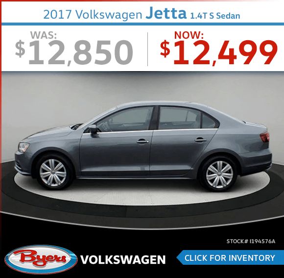 Pre-Owned 2017 Volkswagen Jetta 1.4T S Sedan Special in Columbus, OH