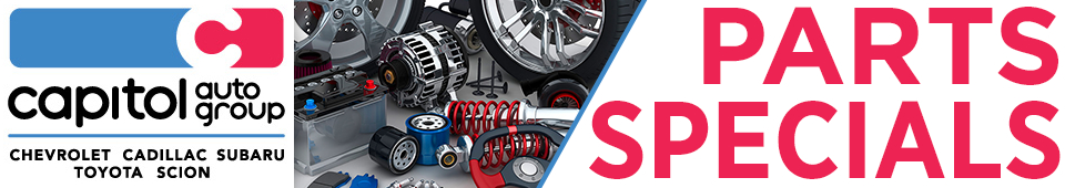 Capitol Auto Group parts and accessories discount offers in Salem, OR
