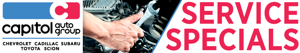 Check out our service, maintenance and repair special offers from Capitol Auto Group in Salem, OR